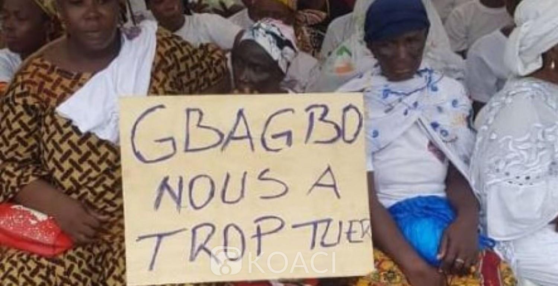 Côte d'Ivoire : Abobo, commémoration du 9ème anniversaire des 7 femmes tuées au rond point du banco, Sidibé Nadiarra : « 9ans après nos bourreaux courent toujours et narguent les parents des victimes