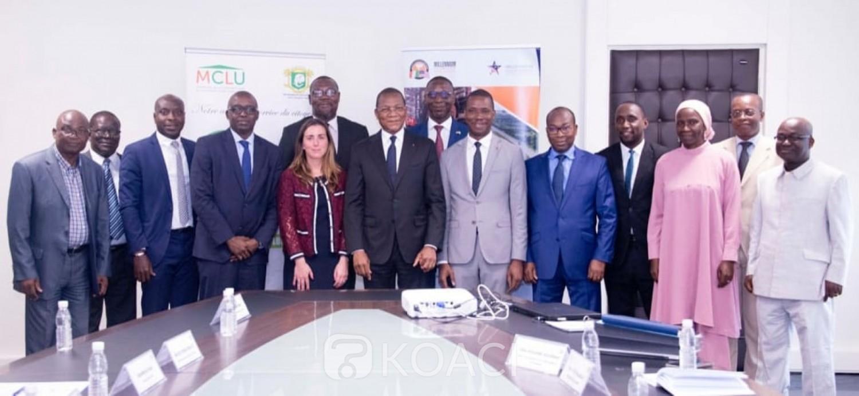 Côte d'Ivoire : Mise en œuvre du Projet Abidjan transport, le MCA et le ministère de la Construction signent l'accord d'identité, les USA exhortent à l'épuisement des fonds allouées avant 5 ans