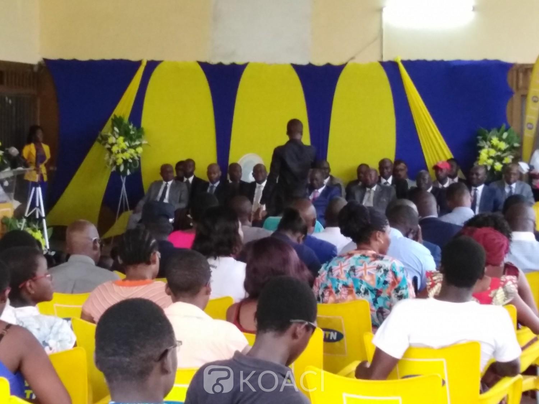 Côte d'Ivoire : La fondation MTN offre une salle multimédia à l'institut national des aveugles