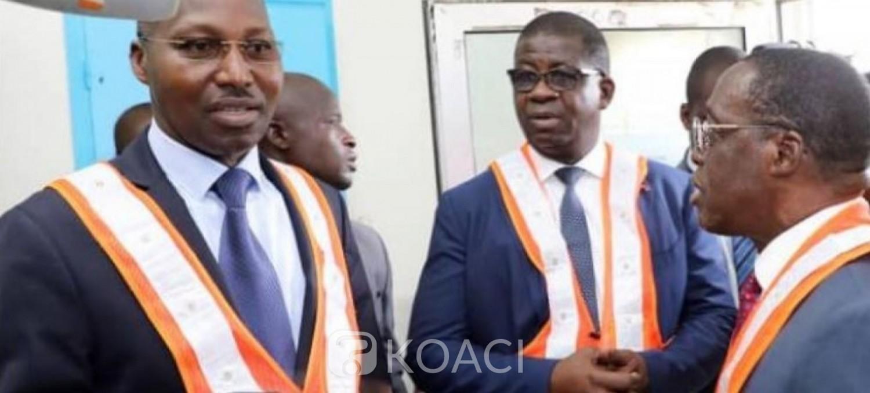 Côte d'Ivoire : Coronavirus, Aka Aouélé au port pour s'imprégner des  mesures de sécurité sanitaire, la crainte des proches des ivoiriens confinés  à Wuhan