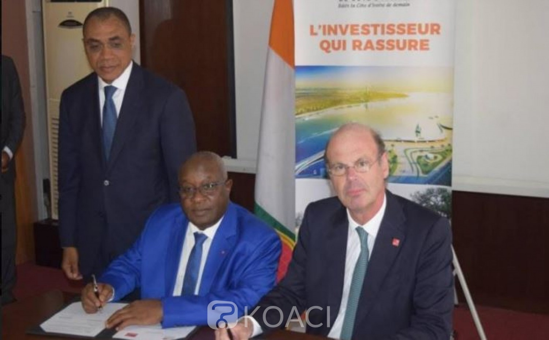 Côte d'Ivoire : Renforcement de coopération, Lassina Fofana de la CDC signe un accord avec son homologue Français Eric Lombard