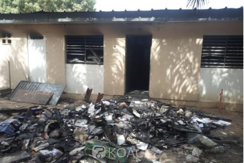 Côte d'Ivoire : Les auteurs présumés de l'incendie du  collège privé Kyali Pauline de Ferké mis aux arrêts