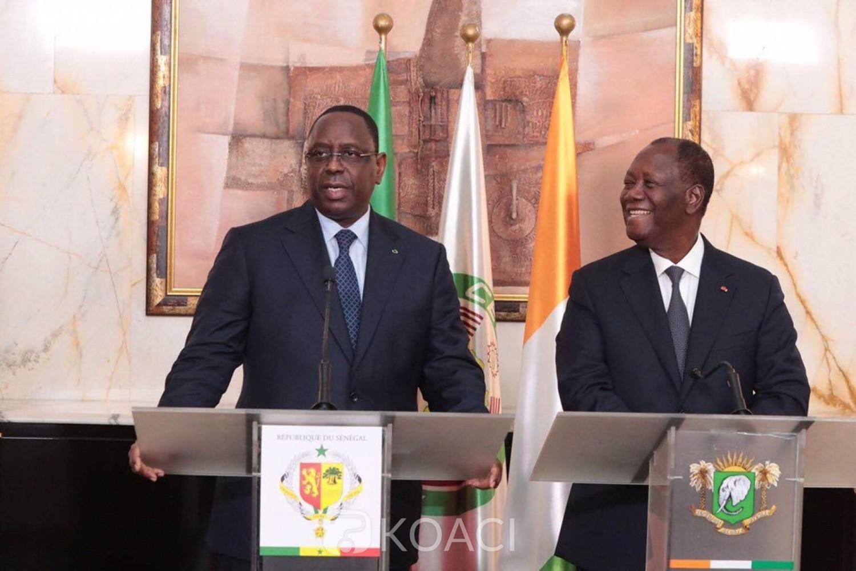 Sénégal-Côte d'Ivoire : 3ème mandat, Alassane Ouattara met la pression sur Macky Sall