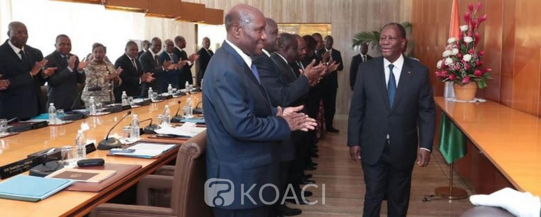 Côte d'Ivoire : Après son renoncement, Ouattara appelle les cadres du RHDP au rassemblement et à l'union et annonce un conseil politique jeudi prochain pour donner les raisons de sa décision