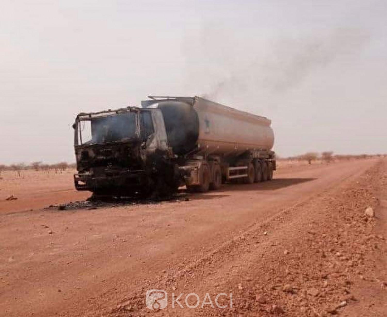 Burkina Faso : Un camion-citerne intercepté et incendié par des individus armés