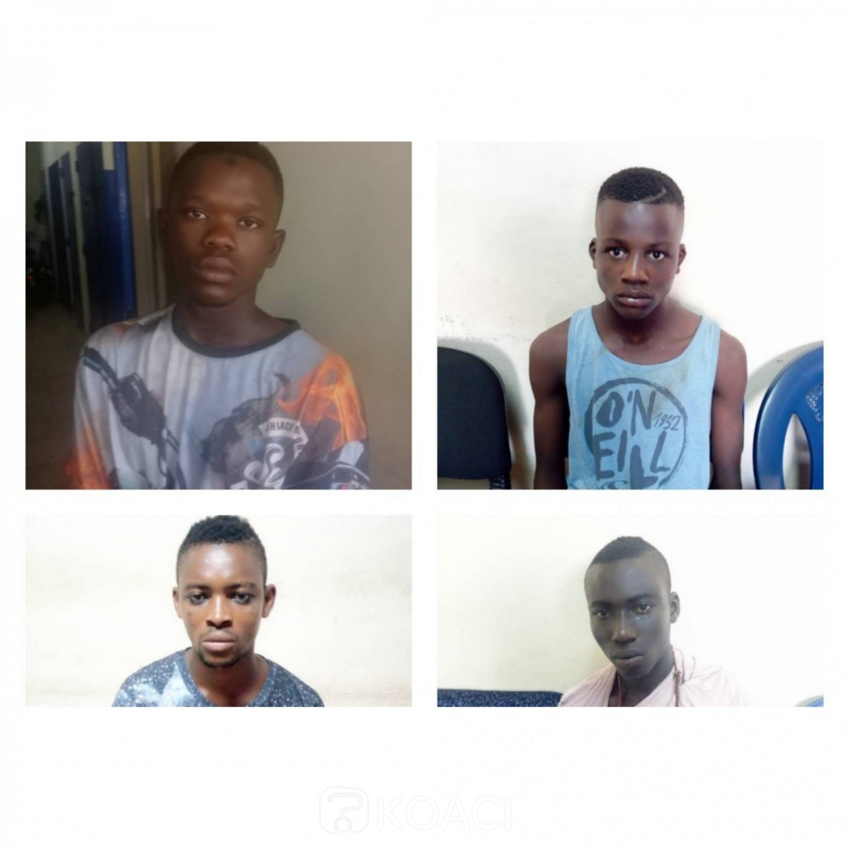 Côte d'Ivoire: Attaque des microbes à Abobo-Akeïkoi, 04 caïds arrêtés par la police
