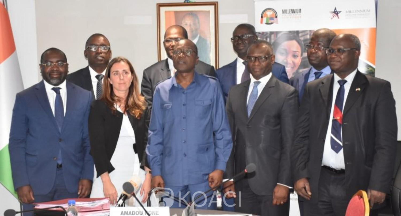 Côte d'Ivoire : Mise en œuvre du projet Abidjan transport du MCC, les ingénieurs ivoiriens bientôt à la pointe de la formation pour booster le management des infrastructures routières