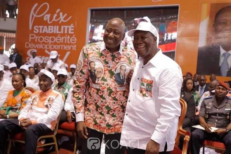Côte d'Ivoire : Amadou Gon : « Ceux qui croient donc que le Président Ouattara s'en va pour de bon se trompent »