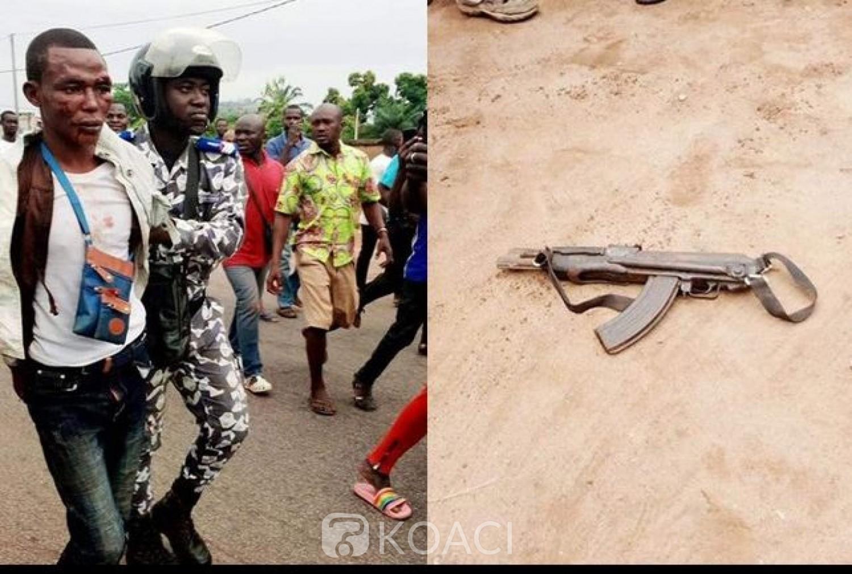 Côte d'Ivoire : Tentative de braquage d'une banque à l'Ouest, un suspect interpellé