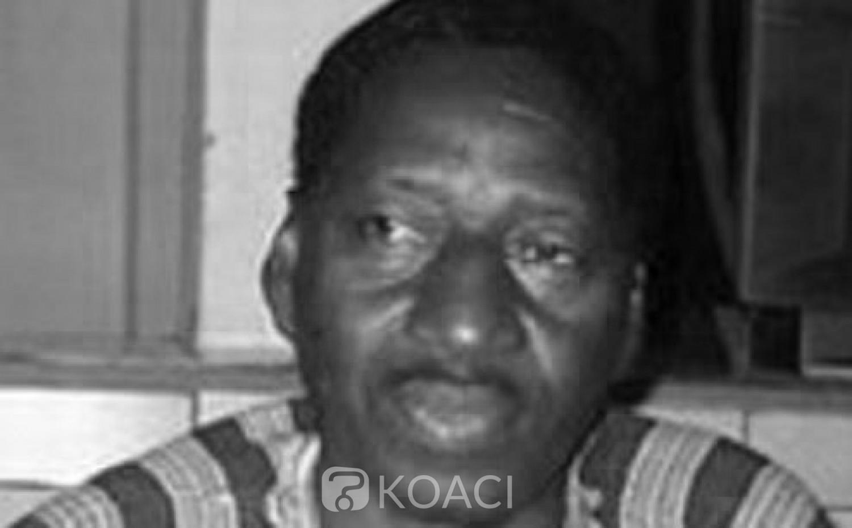 Burkina Faso : Décès de l'ancien ministre de l'enseignement de base, Mathieu Ouédraogo