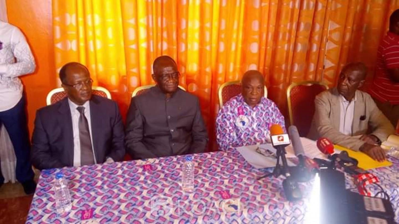 Côte d'Ivoire : Aux côtés de Guikahué et Ouégnin,  Assoa Adou invite les militants FPI à établir leurs CNI