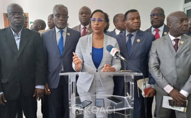 Côte d'Ivoire : Révision constitutionnelle,  les groupes parlementaires de l'opposition annoncent leur retrait des travaux parlementaires