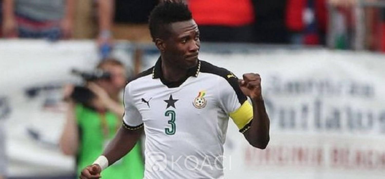 Ghana :  Black Stars, Asamoah Gyan dévoile le secret derrière le port du numéro 3