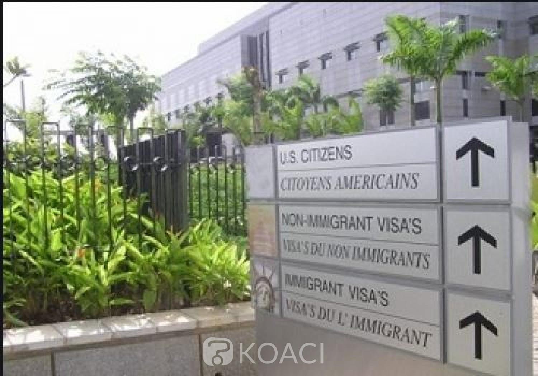 Côte d'Ivoire : L'Ambassade des Etats-Unis annonce la fermeture de ses locaux vendredi, donne des conseils à ses citoyens, et explique la raison