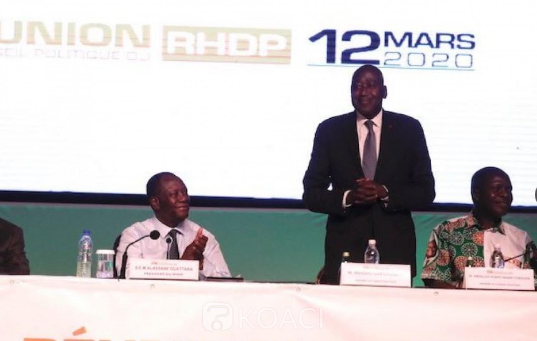 Côte d'Ivoire : Après sa désignation comme le candidat du RHDP, Amadou Gon prend un important engagement