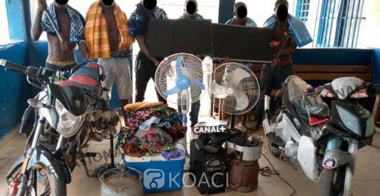 Côte d'Ivoire : Le gang « La Chakala » qui sévissait à Bonon démantelé