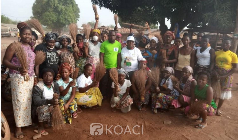 Côte d'Ivoire : À Brobo, les populations sensibilisées à travers une opération grand ménage