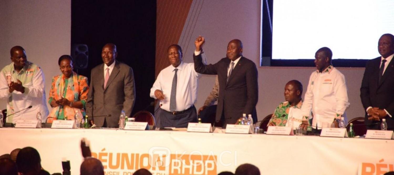 Côte d'Ivoire : Présidentielle 2020, après son renoncement à un 3ème mandat, Ouattara aux militants du RHDP: «J'ai fais et j'ai montré l'exemple aux autres»