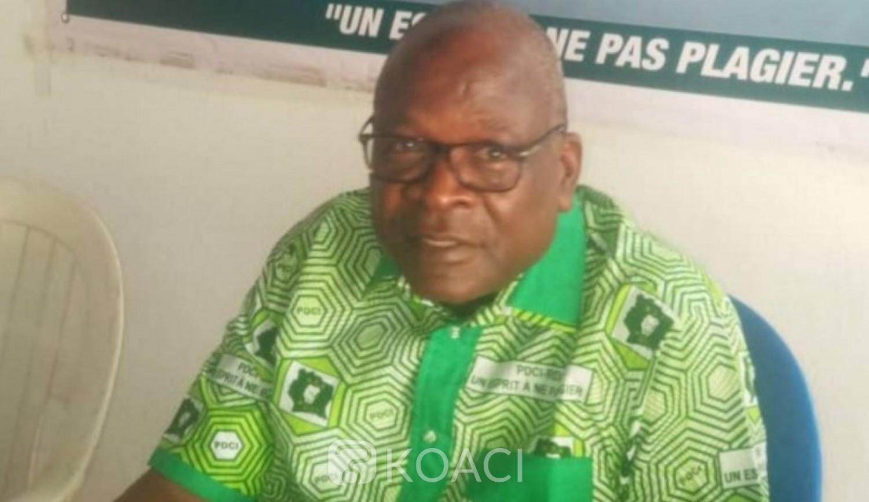 Côte d'Ivoire : À quelques heures du meeting de l'opposition à Yamoussoukro, un délégué PDCI galvanise ses militants