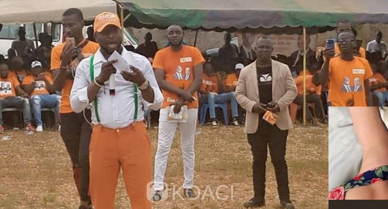 Côte d'Ivoire : En campagne pour Gon,  Charles Gnahoré martèle aux adversaires du RHDP «la politique, c'est du concret et Gon, c'est du réel»
