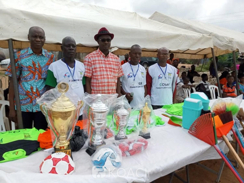 Côte d'Ivoire : Abobo, à quelques mois de l'élection présidentielle, la mairie prône la cohésion sociale à travers des activités culturelles et sportives financées par la JICA