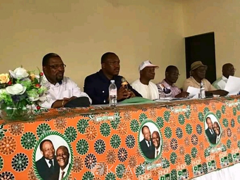 Côte d'Ivoire : Choisi pour être le candidat du RHDP à la présidentielle, Gon plébiscité par le Haut Sassandra