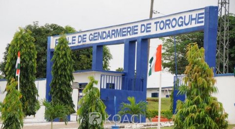 Côte d'Ivoire : Un gendarme trouve la mort en formation à Toroguhé, le Gnl Apalo visite des unités