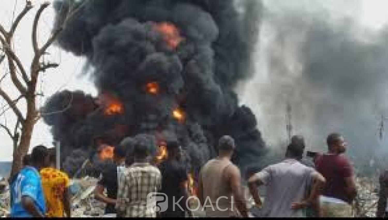 Nigeria : Un camion heurte des  bouteilles de gaz à Lagos, 17 morts au moins  et 25 blessés