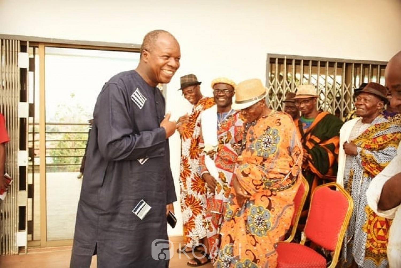 Côte d'Ivoire : Gon désigné candidat du RHDP, Mabri en désaccord avec ce choix fait un repli stratégique à Man