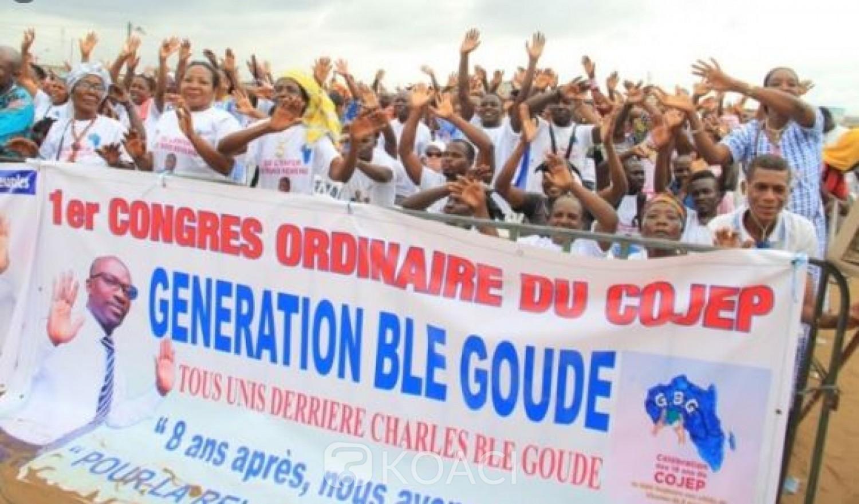 Côte d'Ivoire : Le Cojep annonce le report de sa rentrée politique, Blé Goudé suspend les visites