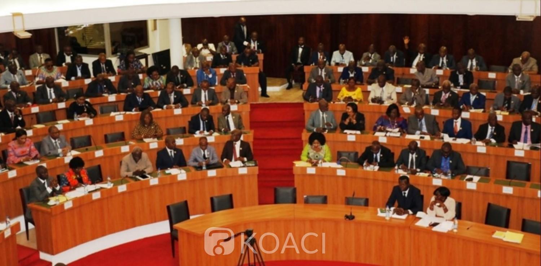 Côte d'Ivoire : Assemblée nationale, suite au désistement des groupes parlementaires de l'opposition, les députés RHDP adoptent en plénière le projet de loi portant révision constitutionnelle