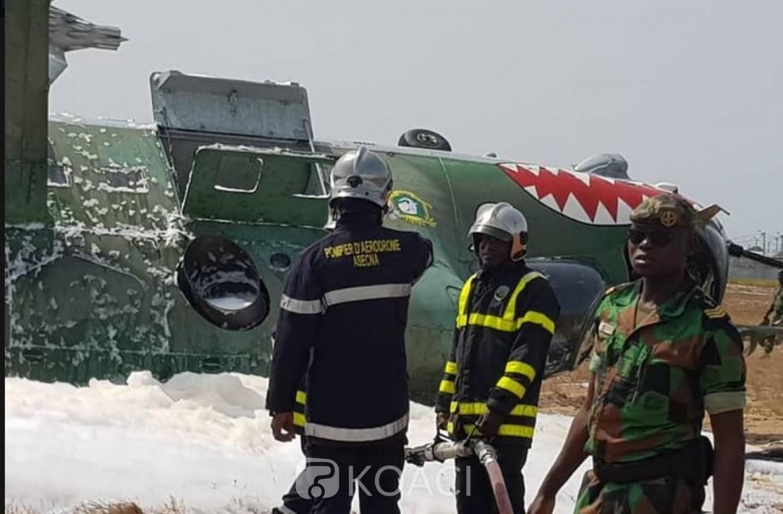 Côte d'Ivoire : Après l'incident impliquant un hélicoptère ce mercredi à l'aéroport, le trafic aérien a repris
