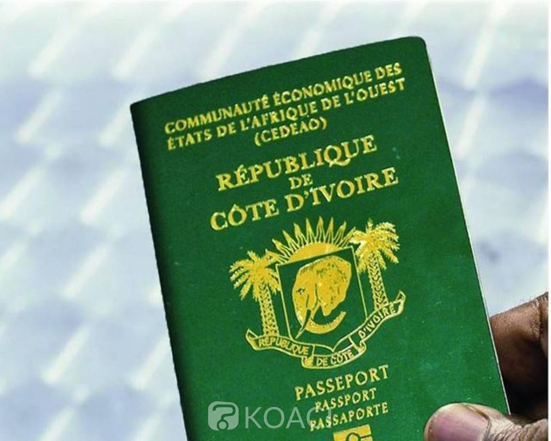 Côte d'Ivoire : En raison du Coronavirus, les Ivoiriens des Etats-Unis  informés de la suspension à l'enrôlement pour le passeport biométrique