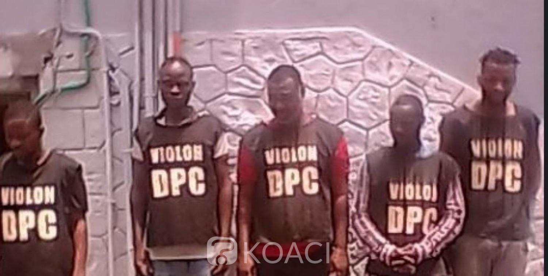Côte d'Ivoire : Un gang composé de cinq individus dont un militaire mis aux arrêts