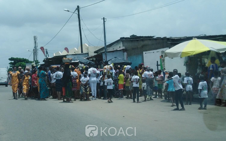 Côte d'Ivoire : Coronavirus, à Abobo point question de se disperser!