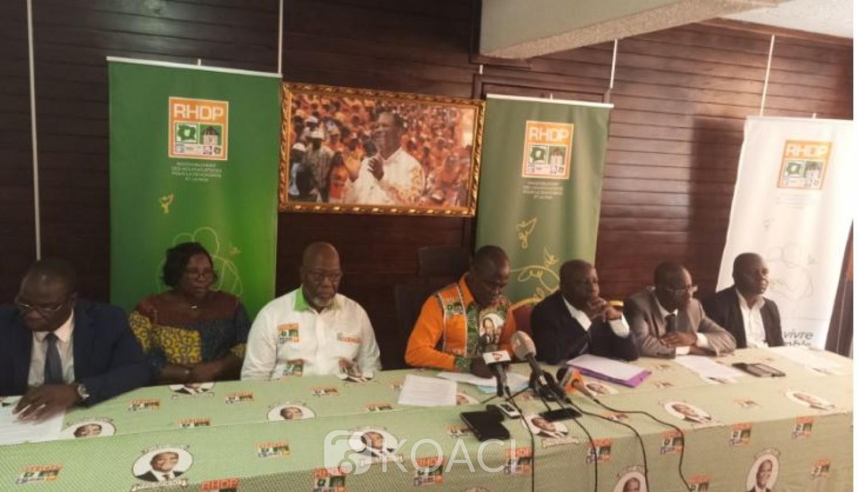 Côte d'Ivoire : Gon candidat du RHDP à la  Présidentielle, Flindé et des cadres de l'ex-UDPCI approuvent, Mabri « désavoué »