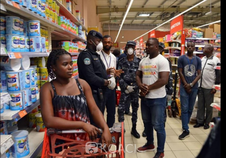 Côte d'Ivoire : « Rumeurs de confinement » à cause du  Coronavirus, la police met en garde contre les diffuseurs  de  fausses informations