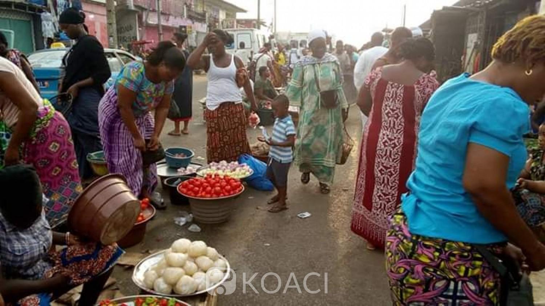 Côte d'Ivoire : Prévention contre la propagation du Coronavirus au marché de Yopougon Sicogi, c'est grave