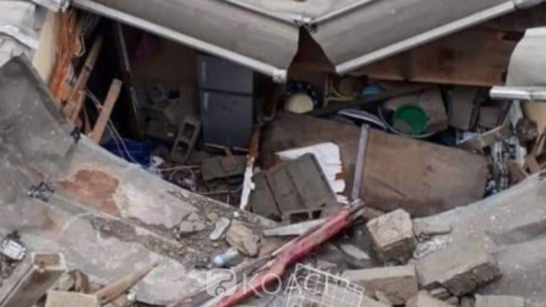 Côte d'Ivoire : Drame, à Adjamé, l'effondrement d'un mur fait des morts et des blessés
