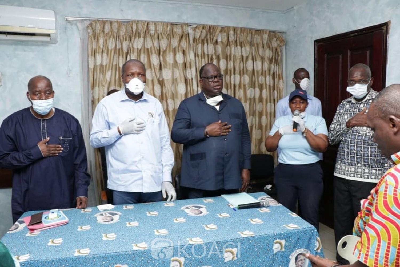 Côte d'Ivoire : Présidentielle d'octobre 2020, membre de la coalition au pouvoir, l'UDPCI n'exclut pas de présenter un candidat, malgré le choix de Gon