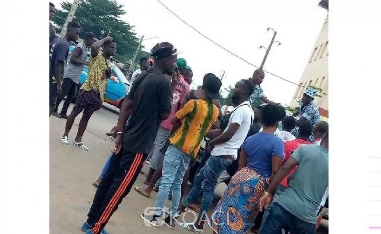 Côte d'Ivoire : Prévention contre le coronavirus, à Yopougon des commerçants empêchés de vendre au marché de Kouté