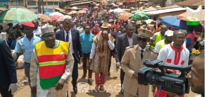 Cameroun : Covid-19, le ministre de la jeunesse intensifie la sensibilisation dans les quartiers et marchés