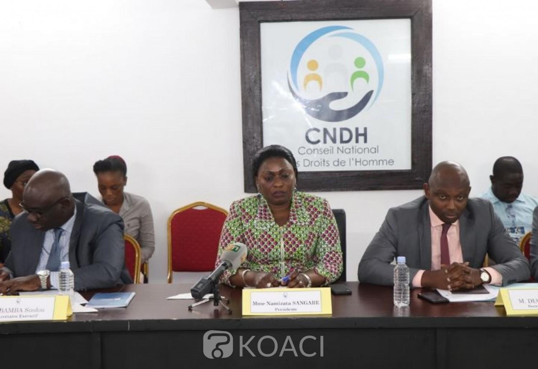 Côte d'Ivoire :  Couvre-feu, violation des Droits de l'Homme, le CNDH interpelle les forces de l'ordre et invite les populations à une réelle prise de conscience face à la propagation du COVID-19