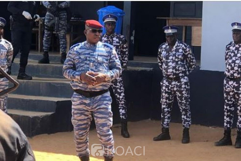 Côte d'Ivoire : Après l'attaque de Tabou qui a occasionné la mort d'un gendarme, le Gnl Apalo Touré promet de mettre la main sur  les auteurs
