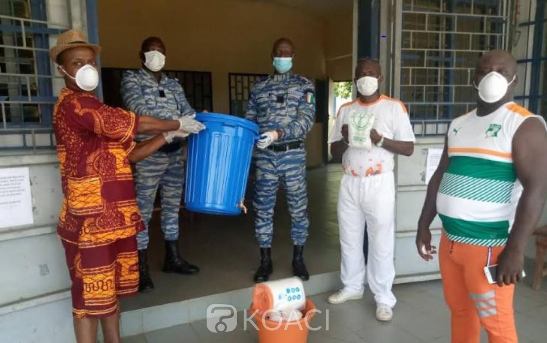 Côte d'Ivoire : Prévention du Covid-19, depuis Songon, Nangui Magès, appelle les ivoiriens à une mutualisation des efforts