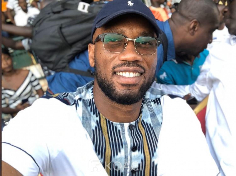 Côte d'Ivoire : Candidat à la FIF, Drogba pris dans l'infox des dons contre le Covid19, reçoit le soutien de quatre clubs