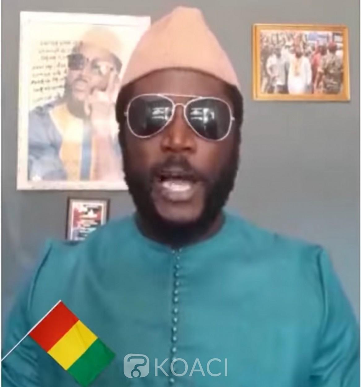 Guinée : L'artiste reggae Elie Kamano quitte le FNDC et fustige les leaders : « On ne peut pas vouloir du miel et avoir peur d'affronter les abeilles »