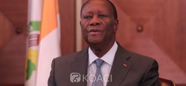 Côte d'Ivoire : Alassane Ouattara : « Le plan de soutien du Gouvernement permettra d'atténuer l'impact de la pandémie sur les populations »