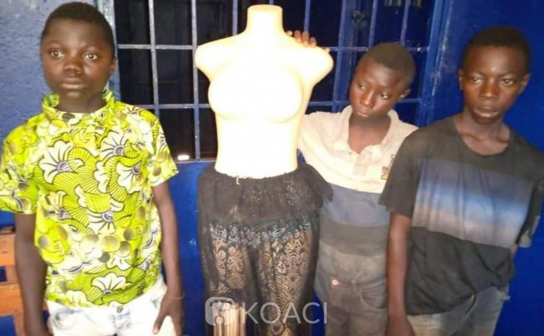 Côte d'Ivoire : Gamins, ils profitaient du couvre-feu pour cambrioler les commerces, bilan de la nuit