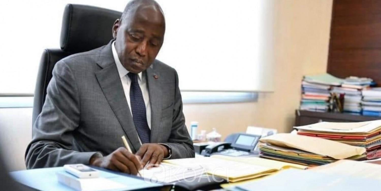 Côte d'Ivoire : Amadou Gon sort de son auto-confinement covid-19 et reprend son poste à la Primature